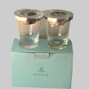 PARTY LITE VERSATILITY VOTIVE PAIR